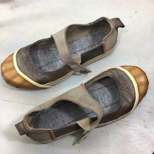 Sorel Sentry Rubber Toe Slip-On Maryjanes